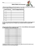 Math CCSS 6.EE.9 function tables with variables