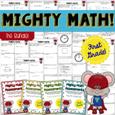 FIRST GRADE Math Formative Assessments - Year Long BUNDLE