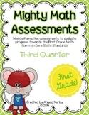 FIRST GRADE Math Formative Assessments - Third Quarter