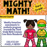 THIRD GRADE Math Formative Assessments - Second Quarter