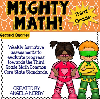 THIRD GRADE Math Formative Assessments - Second Quarter