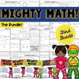 THIRD GRADE Math Formative Assessments - Year Long BUNDLE
