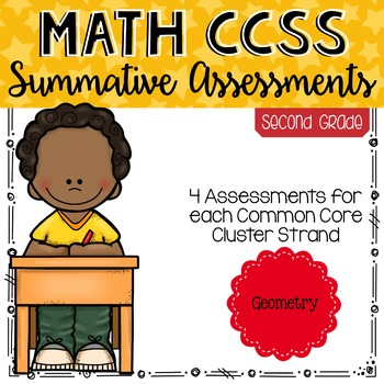SECOND GRADE Math Summative Assessments - Geometry