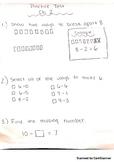 Math Cadre Chapter 2 Practice Math Test