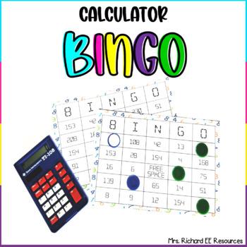 Math Calculator Bingo