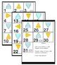 Interactive Math Calendar - 10 Months of Math Themed Calendar Pieces