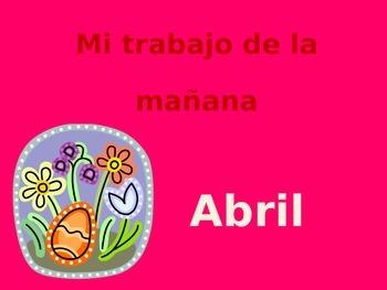 Math Calendar-April