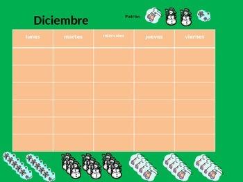 Math Calendar- December