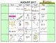 Math Calendar July 2017 - Jun 2018