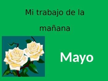 Math Calendar-May