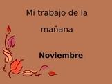 Math Calendar-November