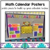 Math Calendar Posters