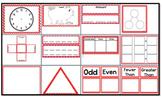 Math Calendar Wall Resource