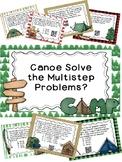 Math Camp - Multistep Word Problems 4th Grade