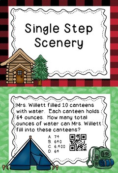 Math Camp - Single Step Problems