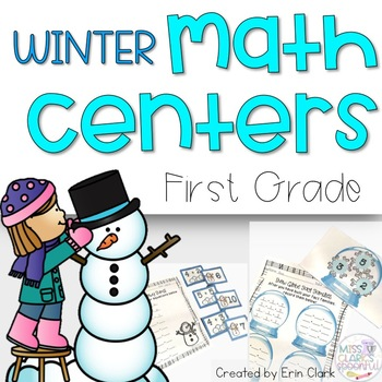 Math Can Be SNOW Much Fun! {Winter Themed Math Tub Activities}