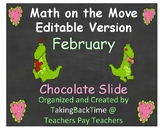 """Math Can Move_ Editable Version for February called """"Choco"""