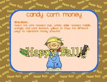 Math - Candy Corn Money