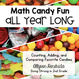 Math Candy Fun All Year - Count, Add, Graph, Compare Favor