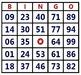 Math & Car Bingo