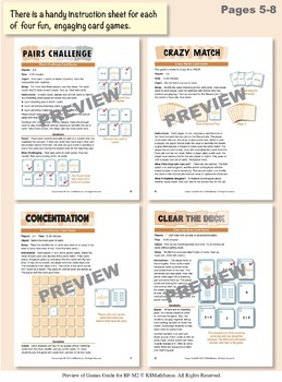 Multi-Match Game Cards BUNDLE: Multiplication Facts for 2s through 9s