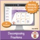 Decomposing Fractions: 40 Math Matching Game Cards 4F