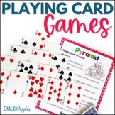 Math Card Games