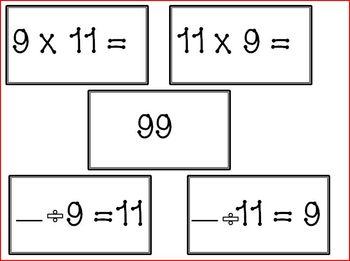 Math Card Set Mega Packs