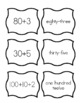 Math Game 2nd Math Game Base 10 Blocks, Standard Form, Expanded Form, Word Form