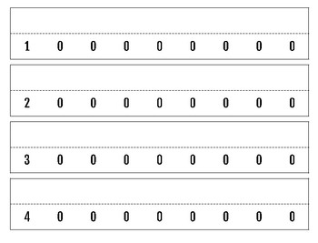 Math Cards for Place Value and Expanded Form