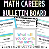 Math Careers Bulletin Board