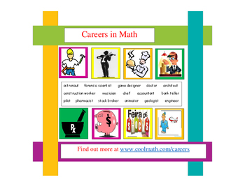 Math Careers Bulletin Board and/or Research Project
