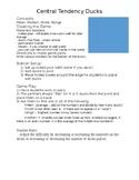 Math Carnival Game - Duck Pond - Statistics