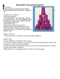 Math Carnival Game - Number Pyramid