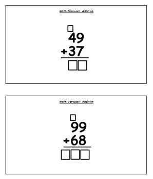 Math Carousel: Addition
