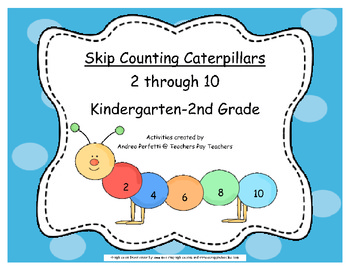 Math- Caterpillar Skip Counting