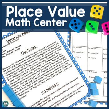 Math Center - Place Value Math Center