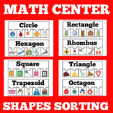 Shapes Centers Kindergarten | Puzzles