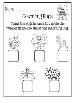 Count The Room ~ Bugs