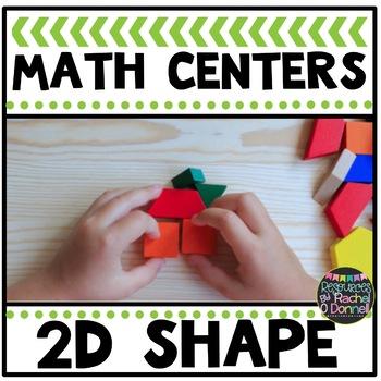 Math Center 2D Plane Shapes
