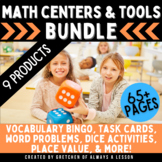 Math Center Activities & Tools BUNDLE