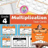 Math Games for 4th Grade - Math Task Cards - Fourth Grade - Math Activities