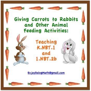 Math Center Activities for Teaching Place Value Standards K.NBT.1 and 1.NBT.2b