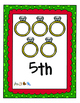 Christmas Math Centers for Pre-K, K, and more.  10 center activities included