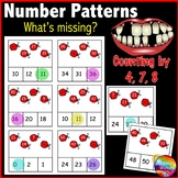 Printable Math Center Activity Skip Count and Complete Missing Numbers Patterns