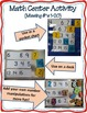 Math Center Activity: Missing Numbers 1-20