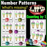 Missing Number Patterns Math Center Activity to 1000