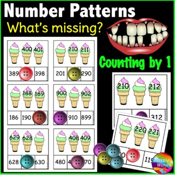 Math Center Activity Sorting Counting Numbers to 1000 Miss