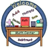 Math Center Activity