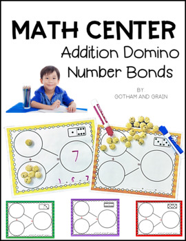 Math Center: Addition Domino Number Bonds